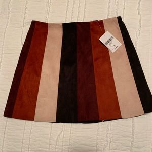 Forever21 stripped skirt